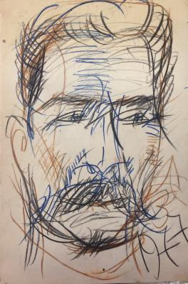 "Zverev A. T. ""Portrait of Stalin"""
