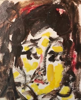 """Zverev A. T. """"Female portrait"""""""
