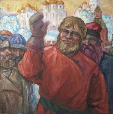"""Konstantinov I. F. """"Fist fighter."""""""