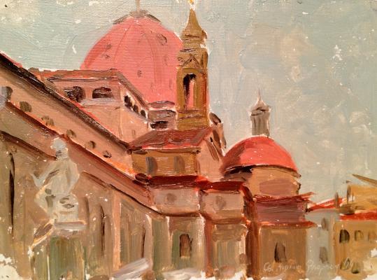 """Golikov V. V. """"Florence . St. Lorenzo"""""""