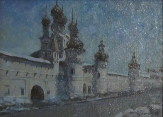 Голиков Василий Васильевич. Ростовский Кремль ночью