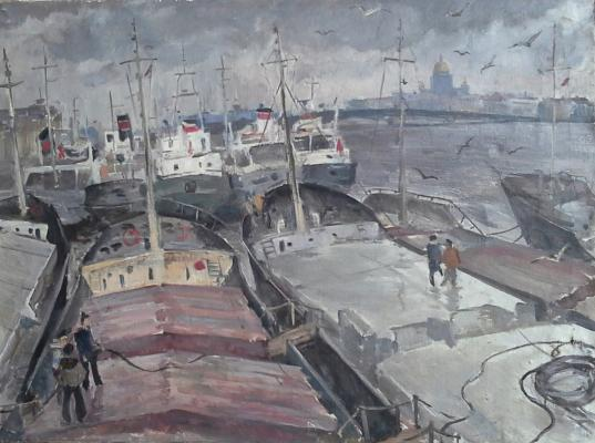 "Smirnova O. S. ""Our Leningrad. Berth on the Neva."""