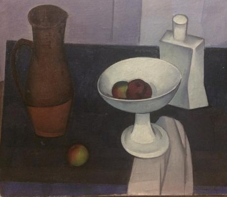 """Osipov S. I. """"Still life with a vase."""""""