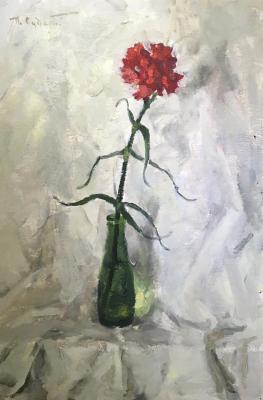 Судаков Павел Федорович. Красная гвоздика