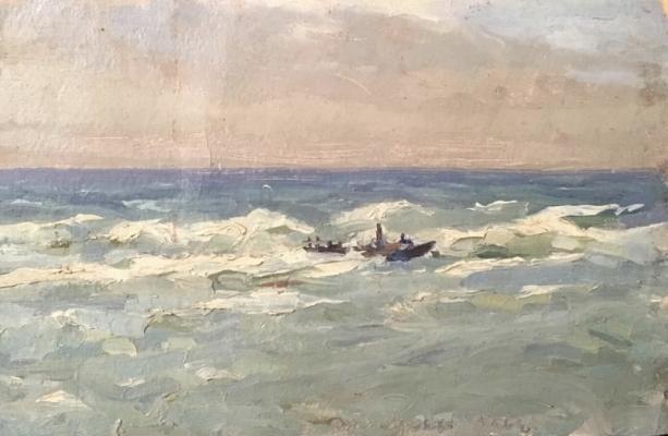 Судаков Павел Федорович. Море
