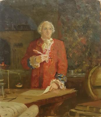 Судаков Павел Федорович. Михаил Ломоносов