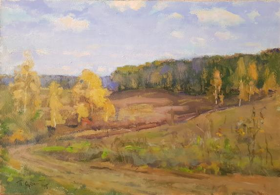 Судаков Павел Федорович. Дорога в деревню Чуралово
