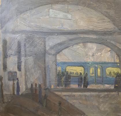 Ротанов Николай Михайлович. Ночное метро