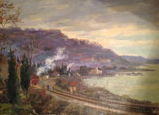 """Kesler """"Railway along the Black Sea."""""""