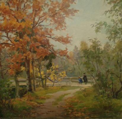 Кеслер Маргарита Леонидовна. Осень в парке.
