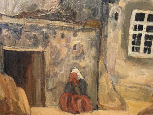 """Bazhbeuk - Melikova Z. A. """"Rural landscape in Armenia"""""""