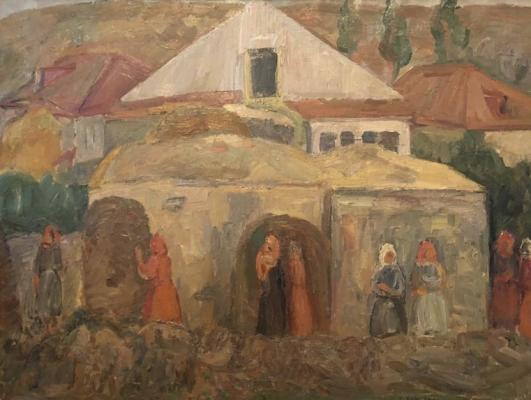"""Bazhbeuk - Melikova Z. A. """"In the evening in the village"""""""