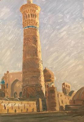 "Bogdanov N. S. ""Mosque in Central Asia"""