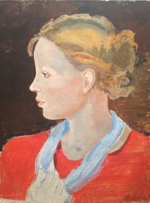 "Antonov F. V. ""Portrait of the Artist"""