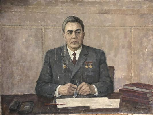 Крымский Аркадий Яковлевич. Генеральный секретарь ЦК КПСС Леонид Ильич Брежнев