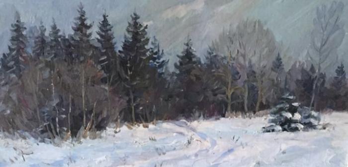 Уколов Владимир Алексеевич. Зима