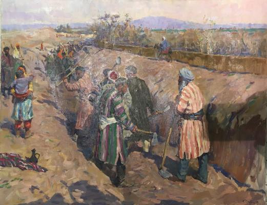 Скубко Сергей Михайлович. Борьба за воду. Строительство стыков в старом Узбекистане