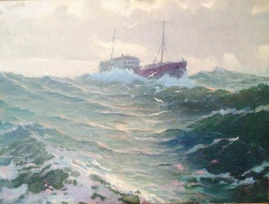 "Titov I. F. ""In the ocean."""