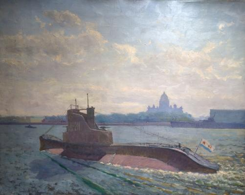 "Titov I. F. ""Submarine on the Neva."""