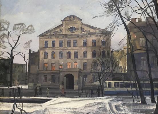 Суворов Николай Георгиевич. Улица Комсомола а Ленинграде