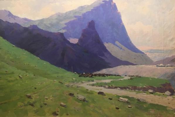 Стрибный Семен Акимович. В долине Кара-Таш