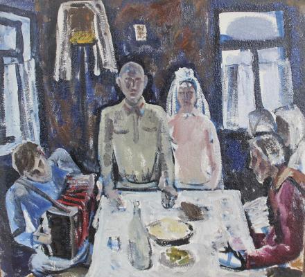 Ельчанинов Владимир Васильевич. Свадьба 1941 года