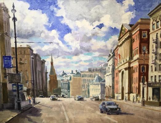 Изумрудов Валерий Сергеевич. Тверская улица