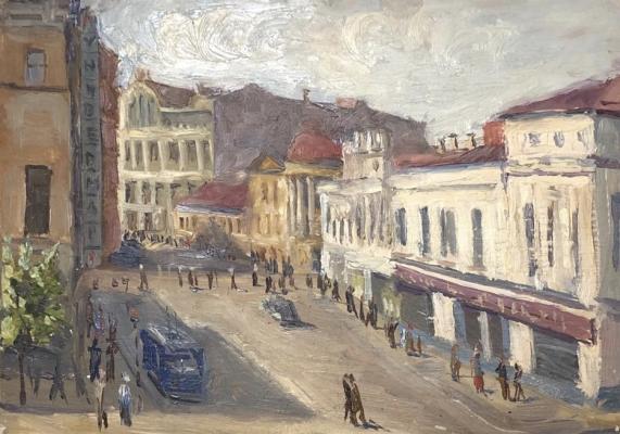 Кибардин Георгий Владимирович. Улица