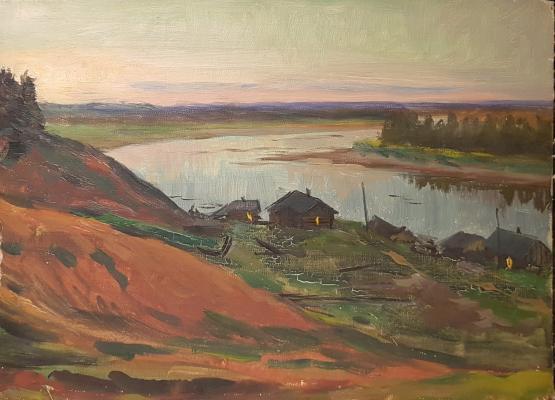 Кибардин Георгий Владимирович. Деревня у реки