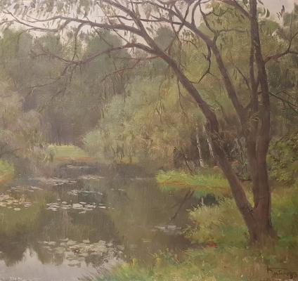 Кибардин Георгий Владимирович. В Тимирязевском парке