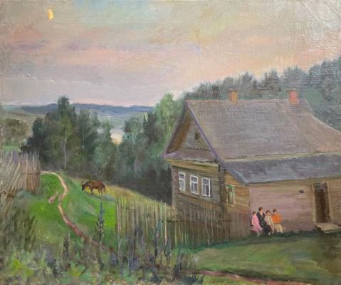 Кибардин Георгий Владимирович. Вечерняя песня