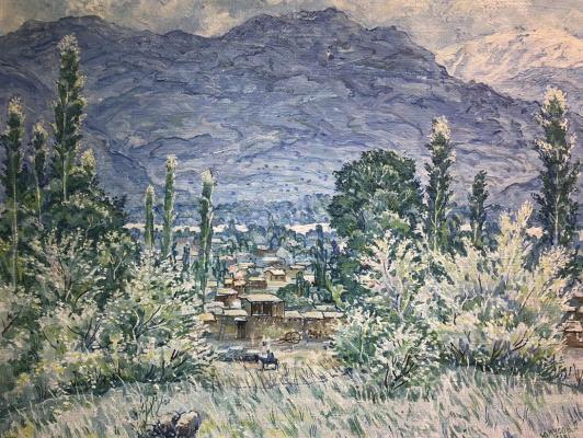 Юнусов А. Селение в горах