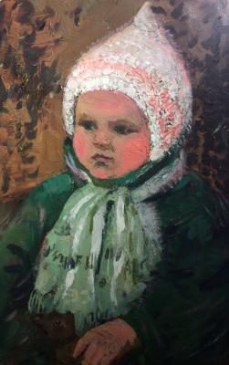 Аристова Ирина Федоровна. Портрет ребёнка
