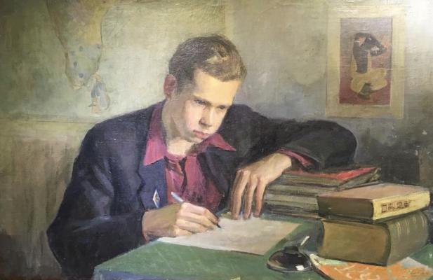 Лекомцев Константин Михайлович. Портрет сына