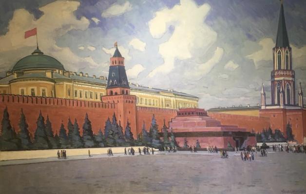 Стрельников Владимир Владимирович. Вид Кремля
