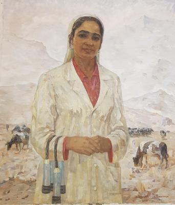 Юлдашев Мубарак Сайдакулович. Портрет