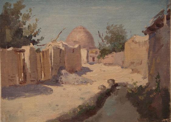 """Veremenko P. M. """"Central Asian landscape ."""""""