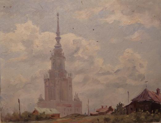 """Veremenko P. M. """"Moscow ."""""""