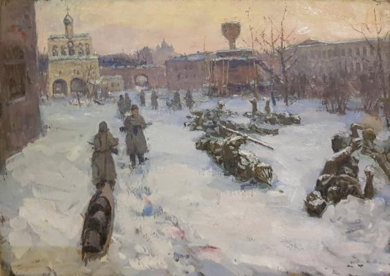 Анурин Петр Яковлевич. Новгород свободен