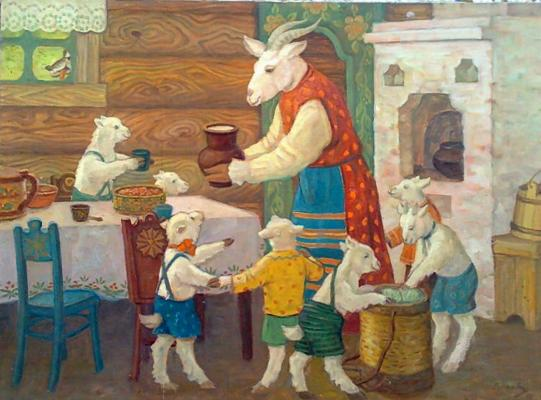 Iglovikov V - The wolf and the seven little goats .