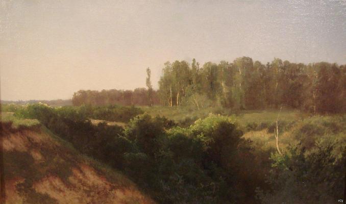 """Meshchersky A. I. """"Summer landscape ."""""""