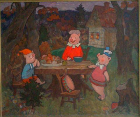 "Novoselsky I. ""The Three Little Pigs ."""