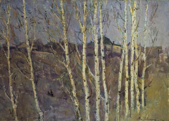 """Igoshev V. A. """"Lenin hills. Village Gorki.gal."""""""