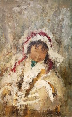 Игошев Владимир Александрович. Портрет  девочки