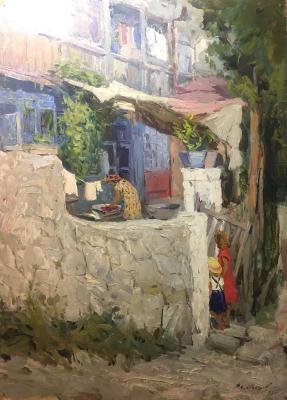 Игошев Владимир Александрович. Крымский дворик
