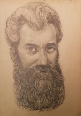 Скобельцын Борис Степанович. Автопортрет