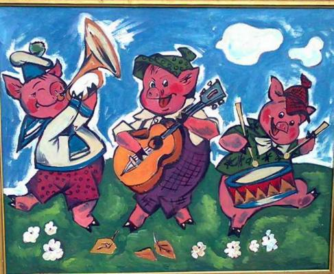 "Lapshin S. ""The Three Little Pigs ."""