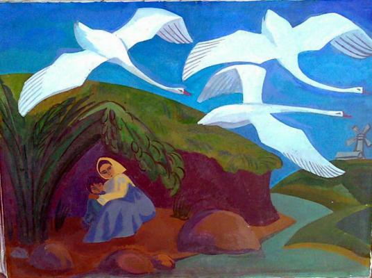 Ivanova T - Geese and Swans .
