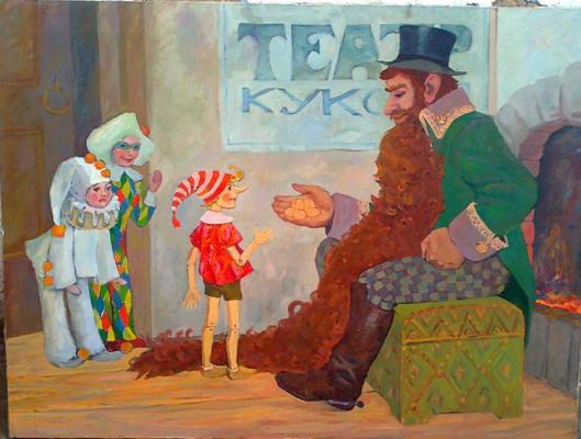 "Krapivina T. ""Pinocchio."""