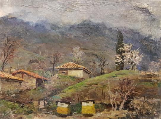 Ванециан Арам Врамшапу. Хмурая весна в Гурзуфе